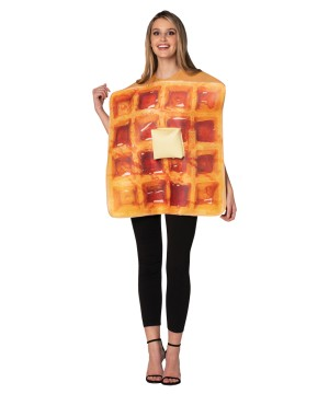 Real Waffle Adult Costume