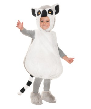 Ring Tail Lemur Toddler Costume