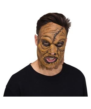 Scarecrow Skinned Adult Mask