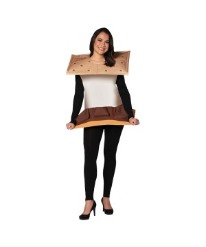 Smores Adult Costume