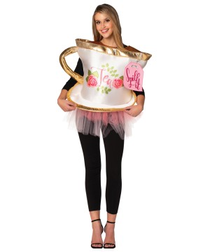 Womens Tea Spill Costume
