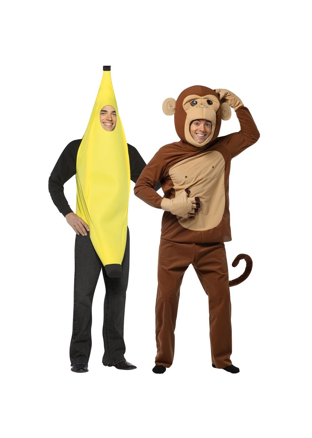 Banana Monkey Couple
