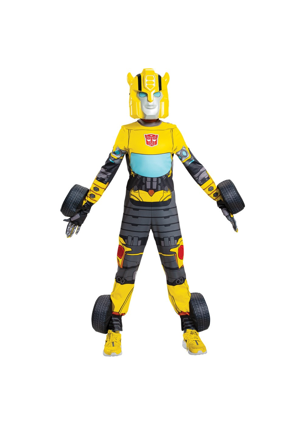 Boys Bumblebee Transforming Costume