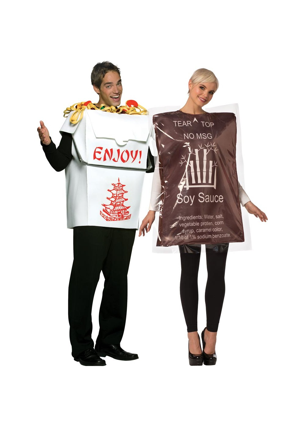 Chinese Take Out Sauce Couple Costume