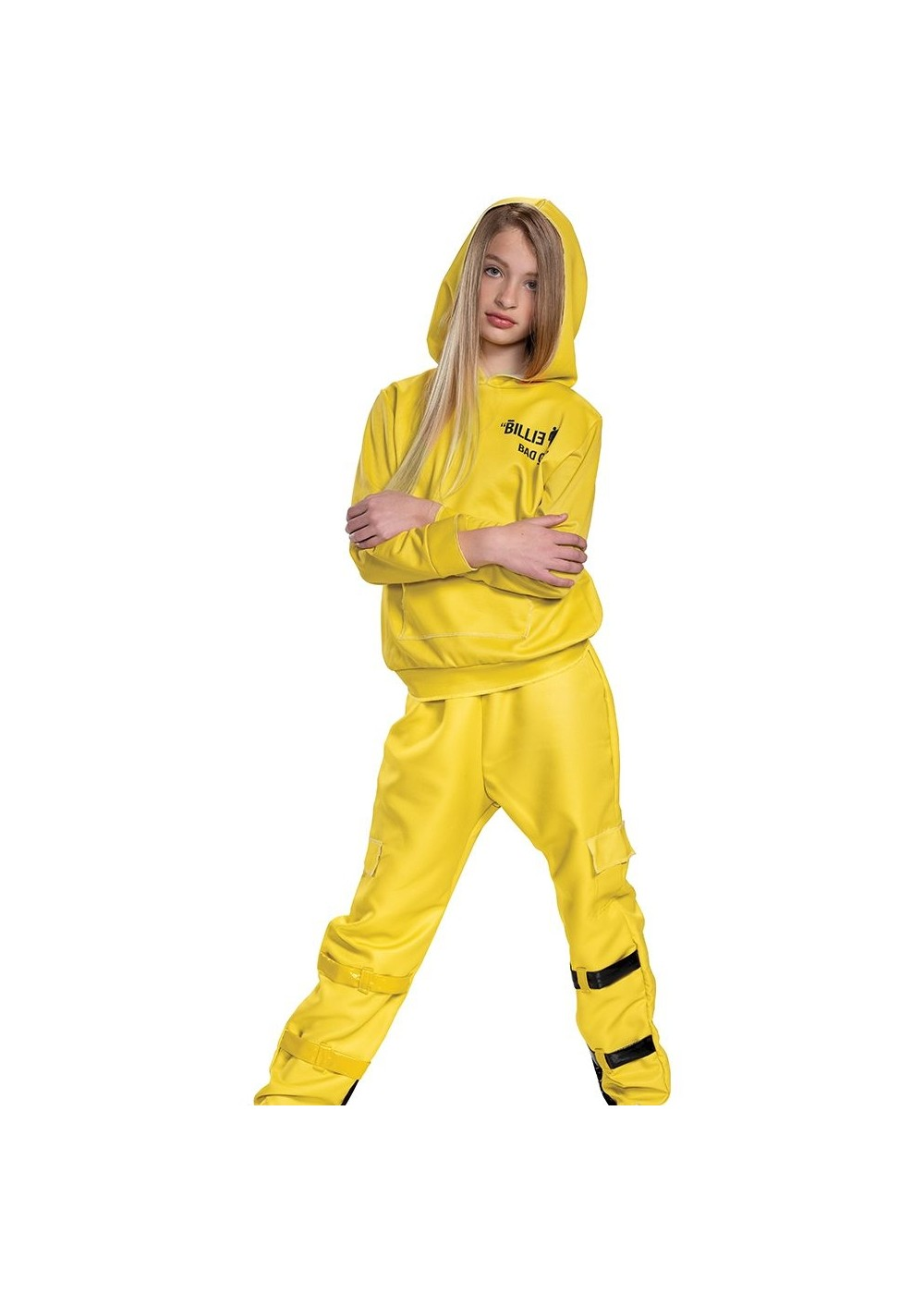 Kids Girls Deluxe Billie Eilish Costume