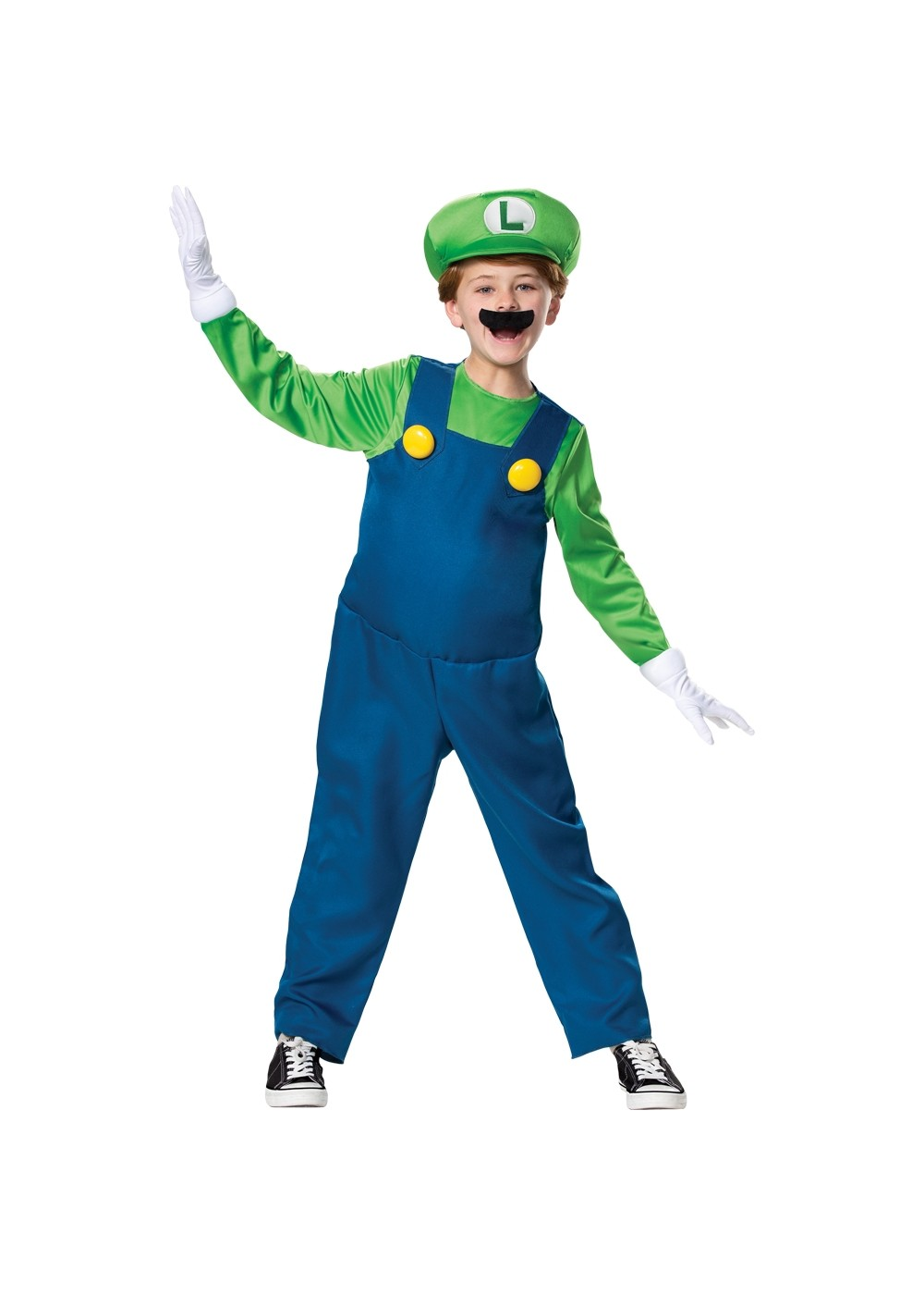 Kids Luigi Child Costume