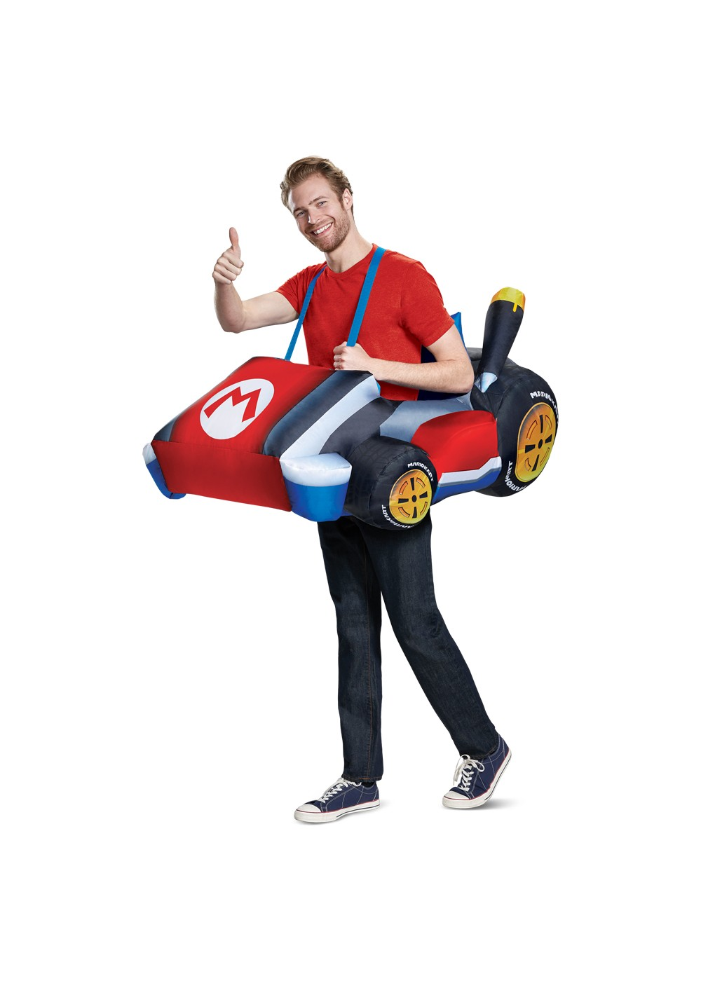 Mens Mario Kart Inflatable Costume