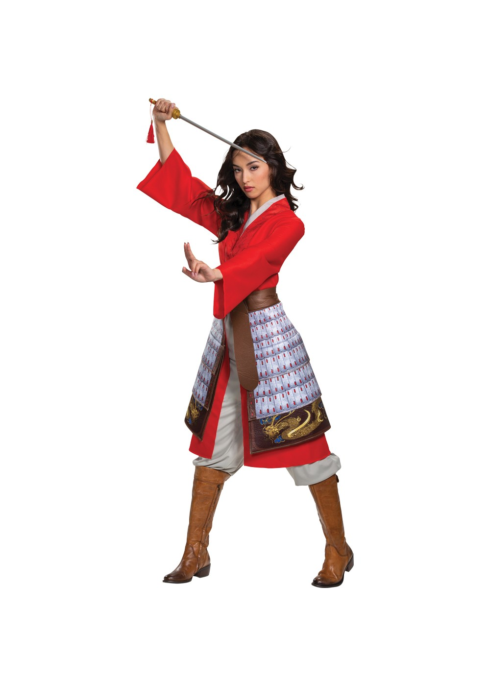 Mulan Hero Dress Womens Costume