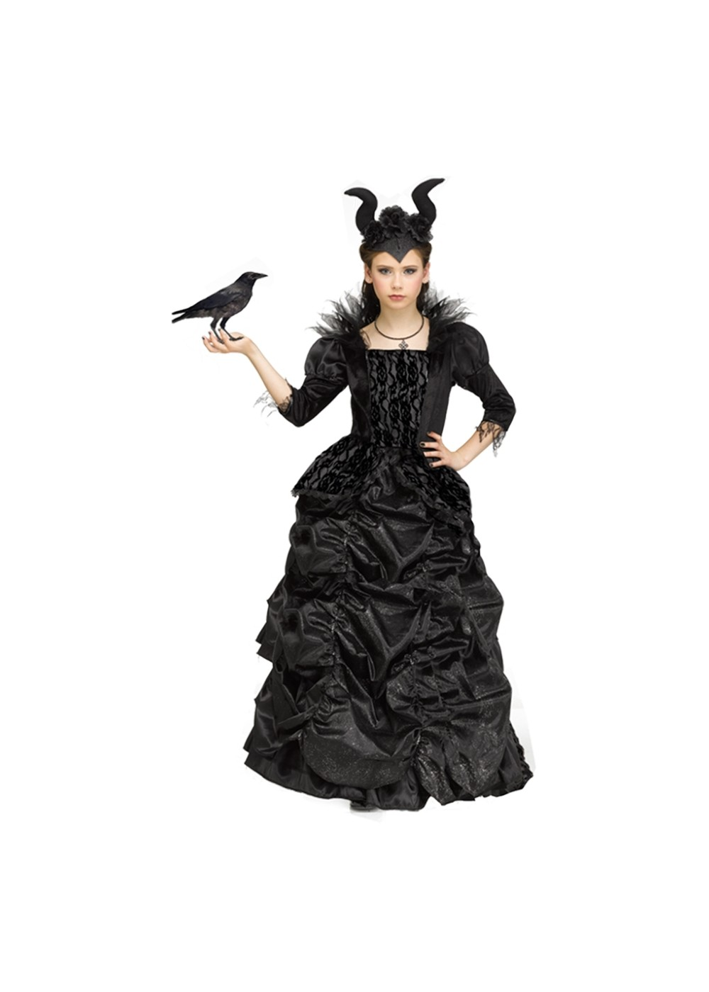Kids Purple Wicked Queen Girls Costume